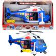 Rendőr helikopter fénnyel és hanggal játékszett