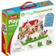 Quercetti: Montessori Állatos pötyi játék gyerekeknek