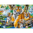 Tigrisek a patakparton 120 db-os puzzle – Castorland