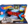 Hot Wheels: Speed Winders Torque Twister piros megajárgány - Mattel