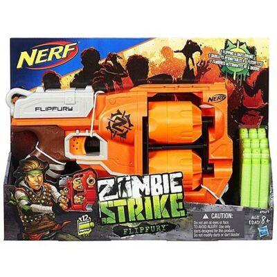 Nerf Zombie Strike Flipfury szivacslövő fegyver