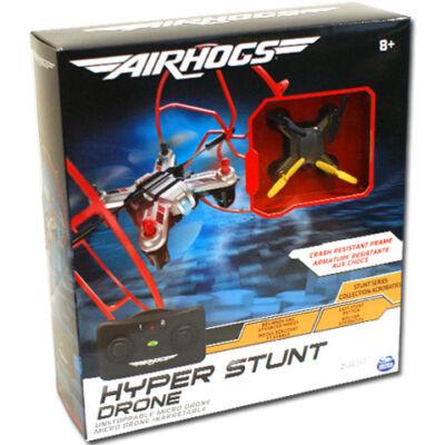 Airhogs Hyper Stunt Drone sötétszürke távirányítós quadrokopter