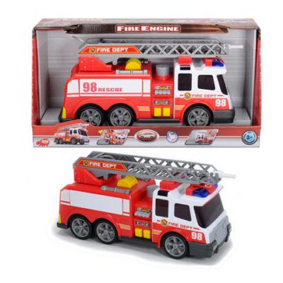 Locsoló tűzoltóautó fénnyel, hanggal játék