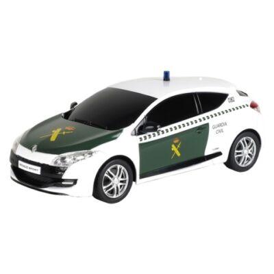RC Renault Megane RS Guardia Civil távirányítós autó 1/14