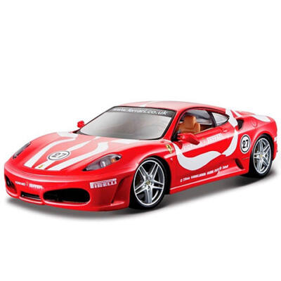Bburago: Ferrari F430 Fiorano fém modell autó 1/24