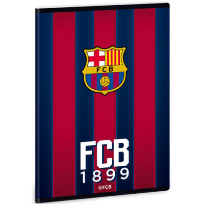 FC Barcelona sima füzet A/4-es méretben
