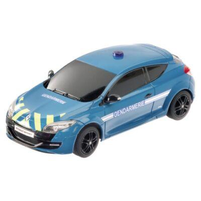RC Renault Megane RS Gendarmerie távirányítós autó 1/24