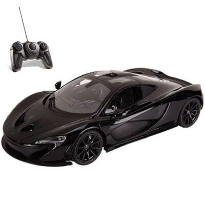 RC McLaren P1 fekete 1:14 távírányítós autó 27MHz