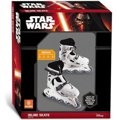 Star Wars soros görkorcsolya világító kerekekkel 37-40-es