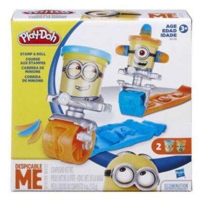 Play-Doh: Minyonos gördülő formázó gyurma játékszett
