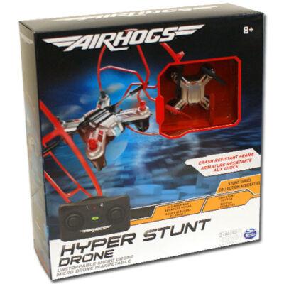 Airhogs Hyper Stunt Drone ezüst távirányítós quadrokopter