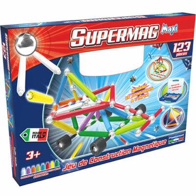 Supermag: Maxi Wheels 123 db-os mágneses játék
