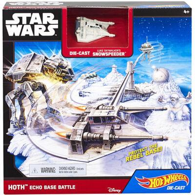 Hot Wheels Star Wars Echo Base Battle játékszett