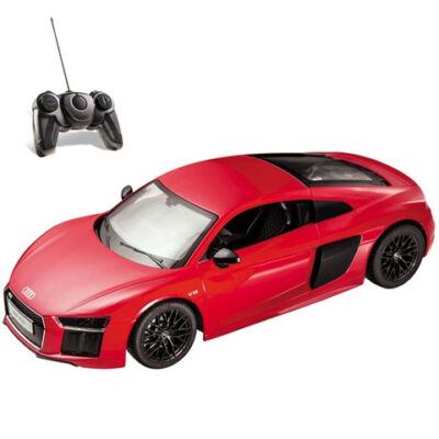 RC Audi R8 piros 1:14 távírányítós autó 27MHz