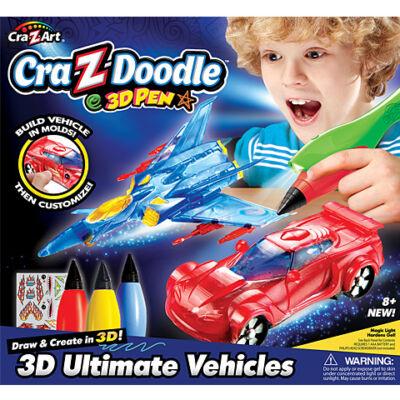 Cra-Z-Art: 3D Toll Járműkészítő szett