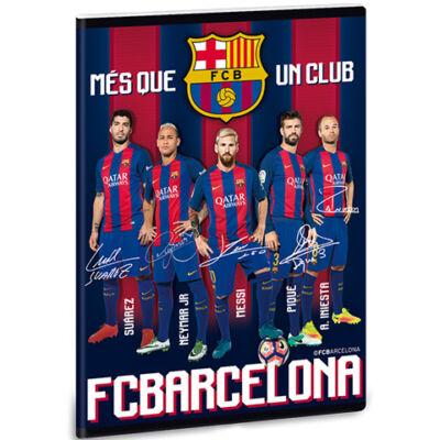 FC Barcelona prémium sima füzet A/5