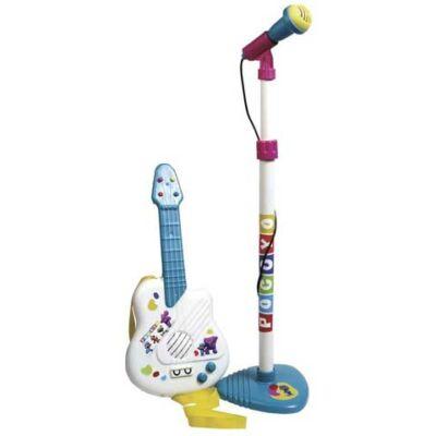 Pocoyo: Állványos mikrofon gitárral