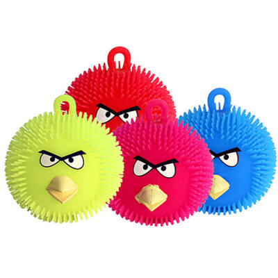 Angry Birds világító gumi labda