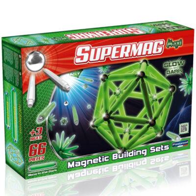 Supermag: Maxi glow 66 db-os mágneses játék