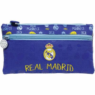 Real Madrid szögletes tolltartó kék színben