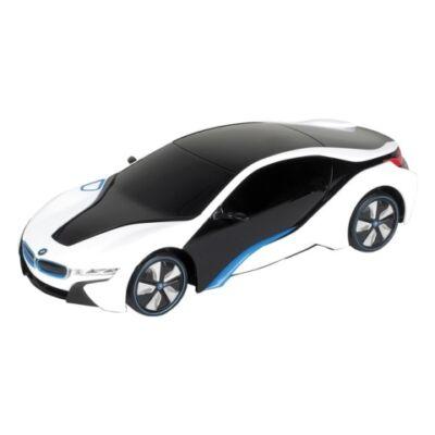 RC BMW i8 Concept távirányítós autó fehér-fekete 1/24