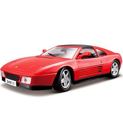 Bburago: Ferrari 348ts piros fém modell autó 1/18