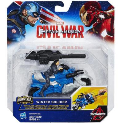 Bosszúállók: A tél katonája járművel