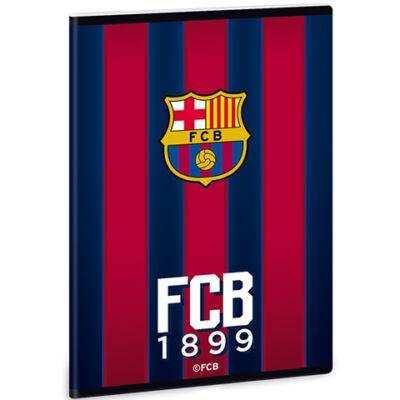 FC Barcelona prémium sima füzet A/5 gránátvörös-kék