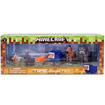 Minecraft: Idomított állatok figuraszett