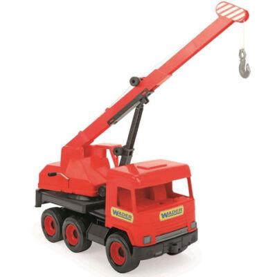Middle Truck: Darus autó 43cm piros