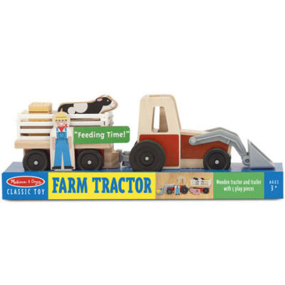 Fa traktor kiegészítőkkel