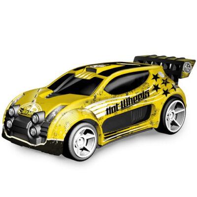 Hot Wheels Fast 4WD távirányítós autó sárga 1/14