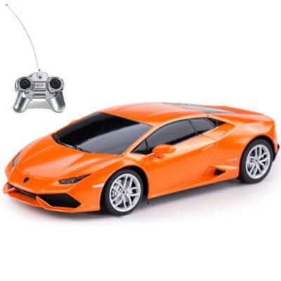 RC Lamborghini Huracán narancssárga 1:24 távírányítós autó 27MHz