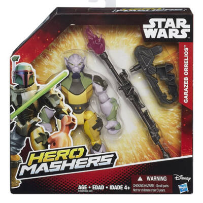Star Wars Hero Mashers Rebels Garazeb Orrelios figura