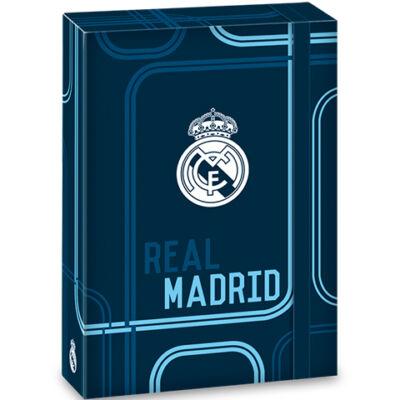 Real Madrid kék füzetbox A/5-ös méretben
