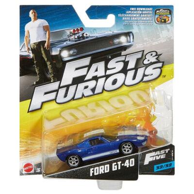 Halálos iramban: Ford GT40 kisautó 1/64