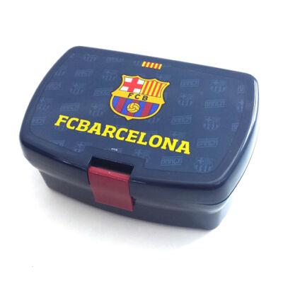 FC Barcelona uzsonnás doboz kék színben