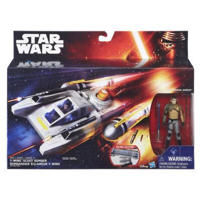 Star Wars: Y-Wing bombázó és Kanan akciófigura