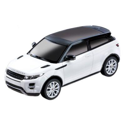 RC Range Rover Evoque távirányítós autó fehér 1/24