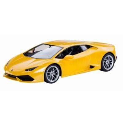 RC Lamborghini Huracán távirányítós autó citromsárga 1/14