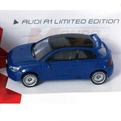 Fast Road: Audi A1 Limited Edition kék fém autómodell 1/43