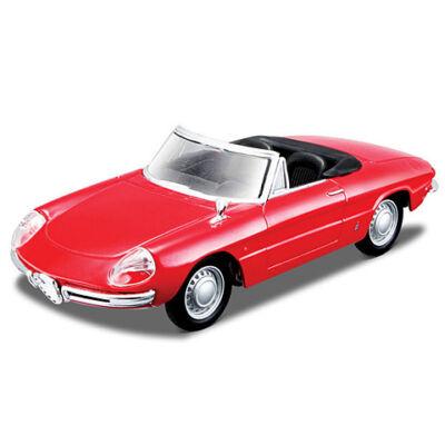 Bburago Street Classics: Alfa Romeo Spider (1966) fém autómodell