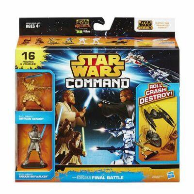 Star Wars Command Végső összecsapás játékszett