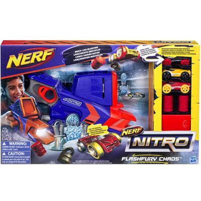Nerf Nitro Flashfury Chaos autókilövő szett