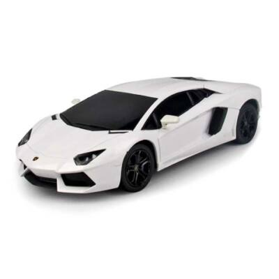 RC Lamborghini Aventador LP700-4 távirányítós autó fehér 1/24