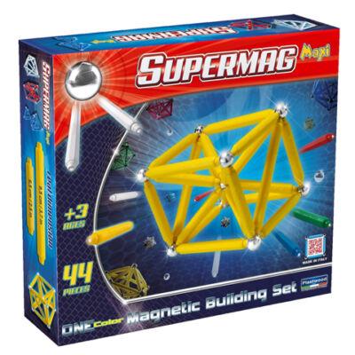 Supermag: Maxi ONE color 44 db-os mágneses játék