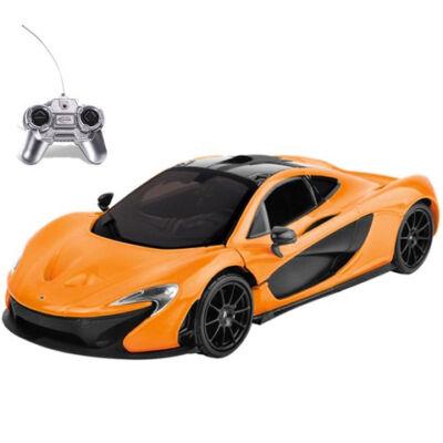 RC McLaren P1 narancssárga 1:24 távírányítós autó 27MHz