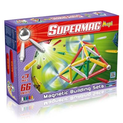 Supermag: Maxi classic 66 db-os mágneses játék