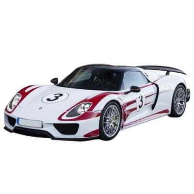 RC Porsche 918 Racing távirányítós autó tölthető akksival 1/16