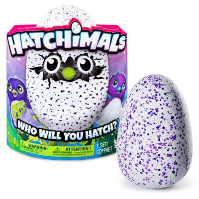 Hatchimals Draguella interaktív plüss lila tojásban